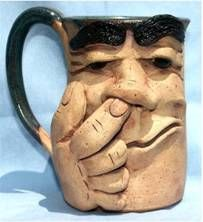 Mug designs with faces