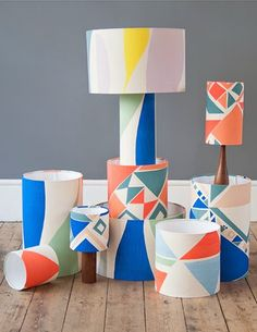Tamasyn Gambell has collaborated with mid-century design store Forest London print & pattern