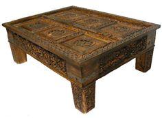 130x83 Cm Antik Look Wohnzimmertisch Orient Teetisch Tisch Couchtisch Nuristan