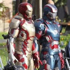 Iron man suits up for 3