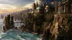 Fantasy Medieval City | Fantasy - City Wallpaper