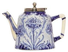 Moorcroft Florian Ware poppy teapot