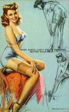 """""""Even Santa Can't Fill A Stocking Better Than That."""" Love the tag line."""