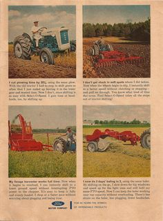 Ford Tractor ad