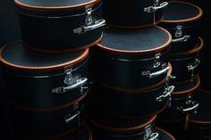 #Kazeto black hat boxes Hat Boxes, Hats, Black, Hat, Black People, Hipster Hat