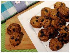 Gezonde chocolat chip cookies van amandelmeel! Dit recept is paleo, vegetarisch, veganistisch, gluten vrij, lactose vrij... Echt een aanrader!!!