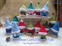 These little fellows are excellent 'little something Christmasy' that you can just whip up in no time(-: