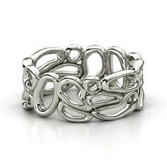 Desert Band Sterling Silver Ring