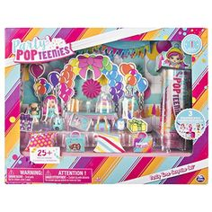 Poptastic Party Playset With Confetti Exclusive Collectible Gentle Party Popteenies