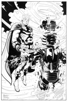 Magneto vs. Iron Man - Brent McKee