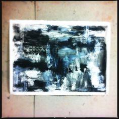mckenna woolley   #paint #artist #acrylic #mixedmedia #drawing #charcoal #wax #blackandwhite #black #white #grey #abstact #art #modern #processpainting #process