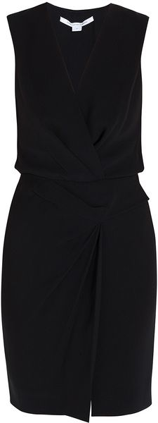 Diane Von Furstenberg Beyatta Deep V Dress