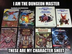 and yep, all my characters. Mazes And Monsters, Board Game Pieces, Board Games, Geek Meme, Pen And Paper Games, Dungeons And Dragons Memes, Dragon Memes, Character Sheet, Tabletop Rpg