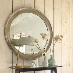 Graham And Green Wall Mirrors - One way to include a classy and distinctive touch of personality to any room in your home will be to add a wall mirror. Oval Mirror, Round Mirrors, Green Wall Mirrors, Beaufort House, Hallway Decorating, Decorating Ideas, Mirror With Lights, New Furniture, Ideal Home
