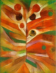 Paul Klee - Feathery plant