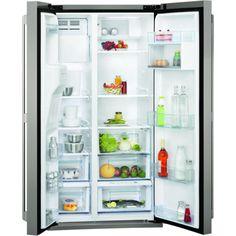 DAEWOO FRSU20IAI Silver Energy Efficiency: A American Fridge Freezer