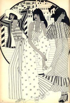 ©Caroline Smith - Ilustración Editorial   Petticoat Magazine & otros. Ilustración   Illustration
