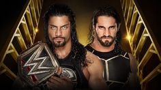WWE Championship match at Money In The Bank sees Rollins facing Reigns for the title he never lost!!!!