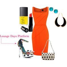 Lounge Days Platform ankle strap sandal #shoes