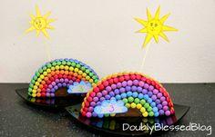 In dieser Serie stelle ich Euch die coolsten Smarties Geburtstagskuchen vor. Diesmal: Der Regenbogen!