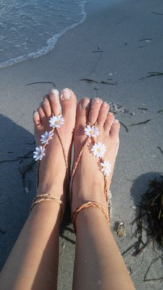 Barefoot sandals. festival boho sandals barefoot by dieselboutique