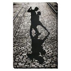 Art.com ''The Last Dance Tango'' Canvas Wall Art, Multicolor