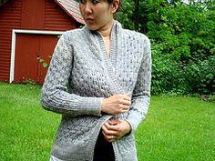Ravelry: Pomme de pin Cardigan pattern by Amy Christoffers