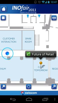 Events - indoor GPS