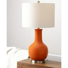Shop for Abbyson Gourd Orange Ceramic Table Lamp. Get free shipping at Overstock.com - Your Online Home Decor Outlet Store! Get 5% in rewards with Club O!