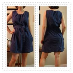 simplicity 2892 lengthened to a dress
