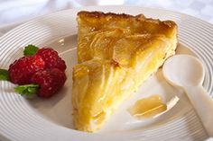Warm apple and almond tart recipe, Herald on Sunday – The original recipe has a honey butter glaze made with the apple peels I have substituted an apricot glaze to simplify the making - Eat Well (formerly Bite) Tart Recipes, Healthy Recipes, Almond Tart Recipe, Cheesecake Tarts, Honey Butter, Sweet Pie, Pie Dessert, Original Recipe, Baking