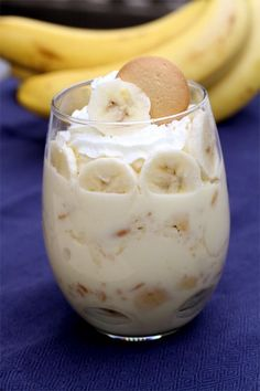Banana pudding from scratch! FINALLY a banana pudding recipe that doesn't call for a box of pudding!!