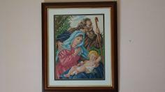 jesus maria y jose, hecha por mi tia
