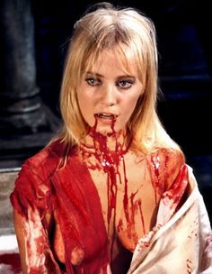 "Yutte Stensgaard in ""Lust For A Vampire"""