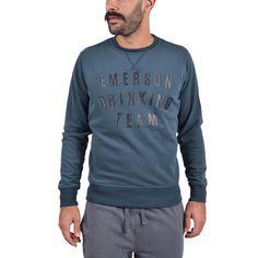 dec94fdbf2a Emerson Men's neckline sweat Αθλητικα Ρουχα – Sportswear – Ανδρικά  Διατίθεται από το CosmosSport.gr