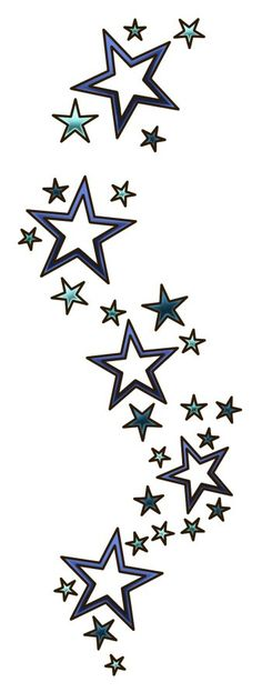 Star vertical banner