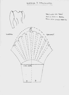 Learn To Draw Manga - Drawing On Demand Corset Sewing Pattern, Pattern Drafting, Dress Sewing Patterns, Sewing Patterns Free, Clothing Patterns, Sewing Sleeves, Fashion Design Drawings, Couture Sewing, Fabric Manipulation