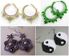 different earrings