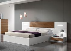 UK King 160cm w x 213cm l x 100/32cm h (mattress size 150 x 200cm) Kenjo Storage Bed - Storage Beds, Contemporary Beds #contemporarybeds
