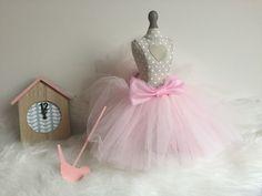Spódniczka tiulowa różowa idealna dla małej księżniczki:)