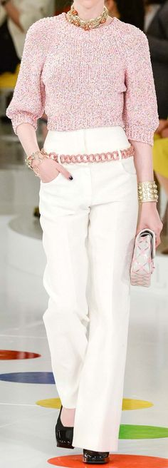 Pinned by TheChanelista on Pinterest -Chanel Resort 2016 050915 Simple but sophisticated