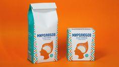 Mirolubov. Sugar package — The Dieline - Branding & Packaging