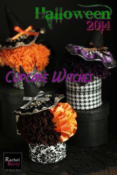 *お知らせ&募集* ワンデーハロウィンアレンジ『Cupcake Witches』 |Rachel Berry 東横線・目黒線 横浜 日吉のプリザーブド&アーティフィシャルフラワー教室&オーダー|Ameba (アメーバ)