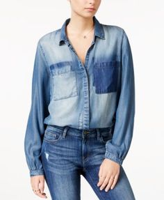 WILLIAM RAST Joplin Denim Shirt | macys.com