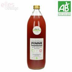 Jus de Pomme Framboise Bio 1l, Ferme Margerie - Vente en Ligne -