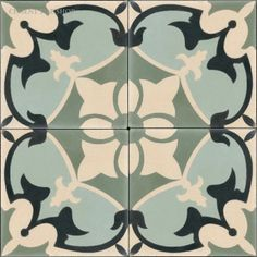 Ordered a small quantity of these cement tiles to audition for the front porch