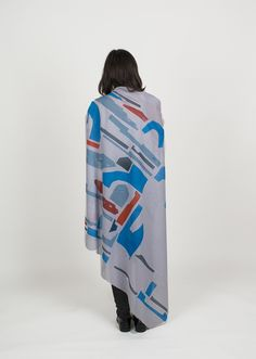 screenprinted scarf by ATOMIR