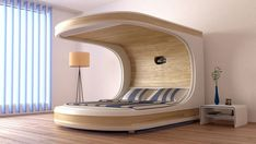 Top 5 Future Technology Inventions, 2019 to 2050 Here you can find your future life with technology. Latest Technology Inventions of this year and so on. You can find New Inventions of Science. Bedroom Bed Design, Bedroom Furniture Design, Modern Bedroom, Bedroom Decor, Furniture Layout, White Bedroom, Futuristic Bed, Futuristic Furniture, Smart Furniture