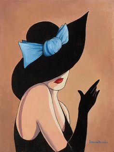 Sombrero Ode y la señora de La Que this sombrero. Artista Lorena Dell Wood. Debate Sobre LiveInternet - Servicio RUSOS Diarios Online   Convert.
