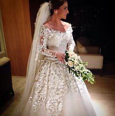 Vestido de noiva deuso